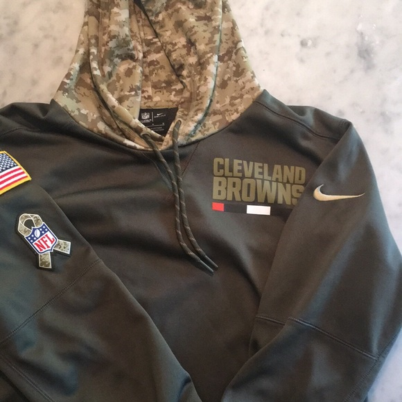 brand new 6b962 5fe7f Nike NFL apparel Cleveland Browns hoodie-Men's M